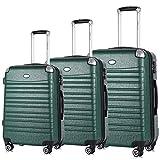 Travel Joy Expandable Luggage Set, Suitcases TSA Lightweight Spinner Luggage Sets, Carry On Luggage 3 Piece Set