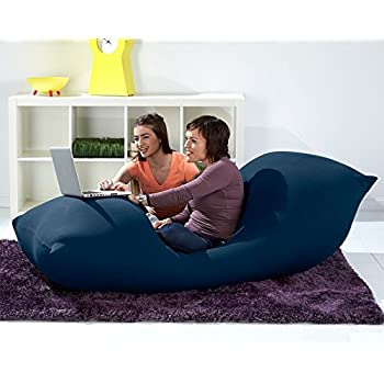 Amazon Com Yogibo 100103 Giant Bean Bag 6 Blue