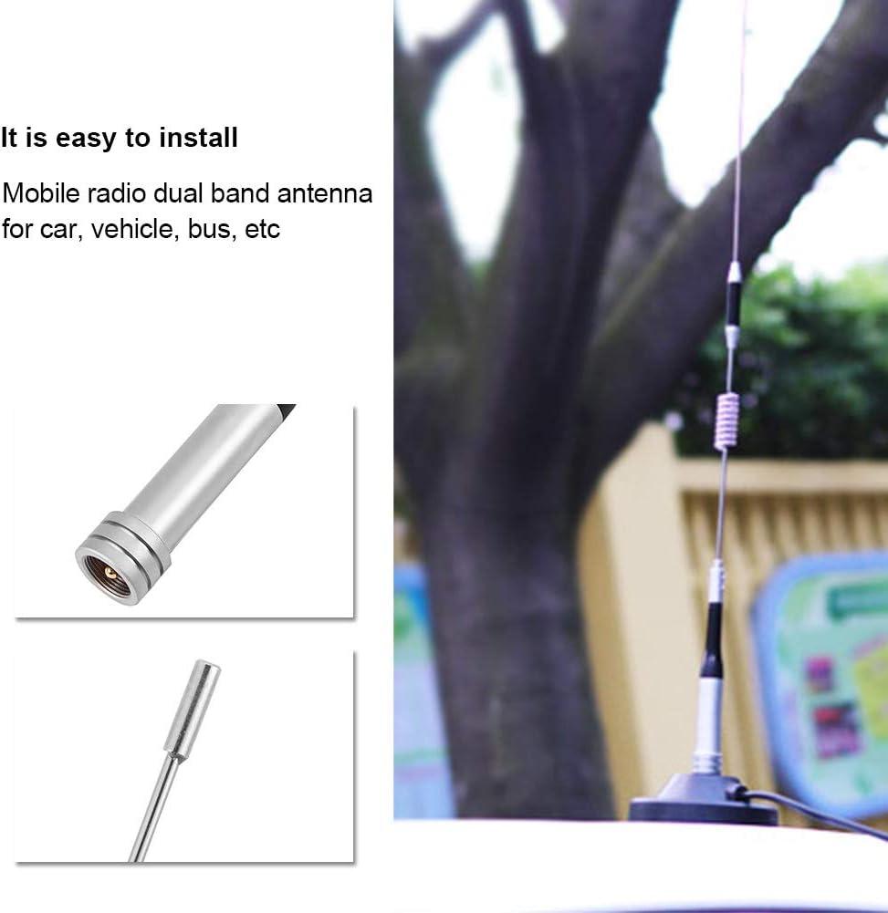 Antenna Radio Mobile Dual Band Antenna UHF//VHF 144//430MHz 100W Guadagno Antenne Radio per autoveicoli Accessori Audio//Video