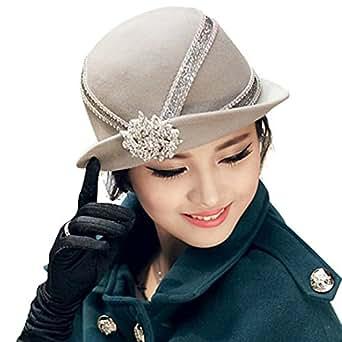 June's Young Women Hats Winter Hat Cloche Hats Casing
