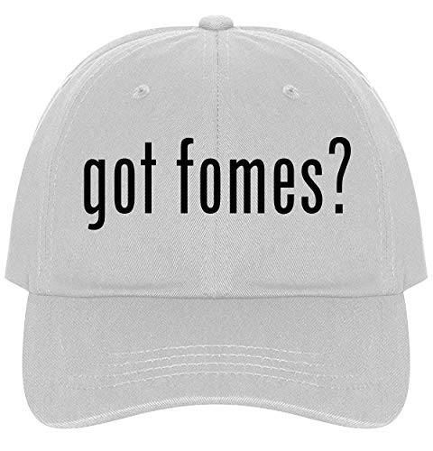The Town Butler got Fomes? - A Nice Comfortable Adjustable Dad Hat Cap, White