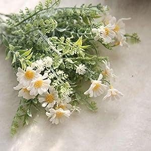 YJYdada Artificial Fake Flowers Mid Chrysanthemum Floral Wedding Bouquet Home Decor 2