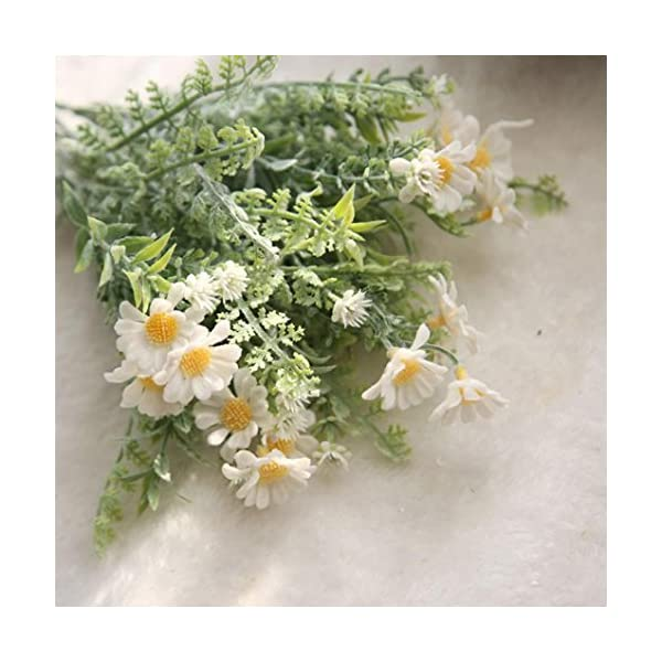 YJYdada-Artificial-Fake-Flowers-Mid-Chrysanthemum-Floral-Wedding-Bouquet-Home-Decor