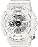 Casio G-Shock Heathered White Dial Resin Quartz Male Watch GA110HT-7A