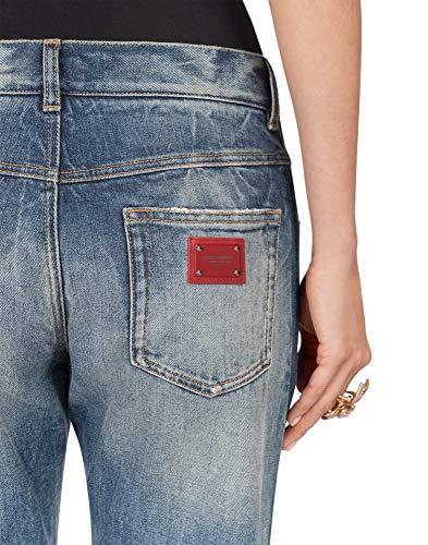 Algodon Dolce Azul Fta0pdg8v47s9000 Mujer Gabbana Jeans E gIwqgX