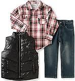 Calvin Klein Little Boys' Toddler Shirt, Vest