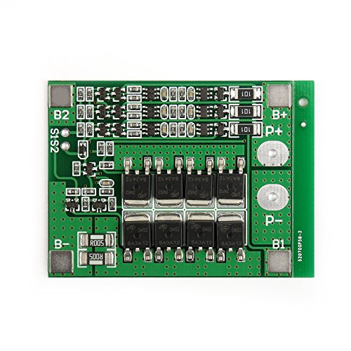 (Areyourshop 1× 3S 11.1V 25A W/Balance Li-ion Lithium 18650 Battery BMS PCB Protection Board)