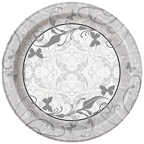 Victorian Wedding Dessert Plates 8ct