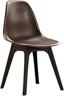 Schienale per sedie in plastica Semplice Sedia da Ufficio Moderna (Colore : C)