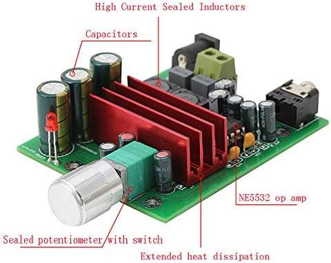 subwoofer Nobsound 100W TPA3116D2 Amplificador Subwoofer Digital Power Amp Board NE5532 OPAMP 8-25V