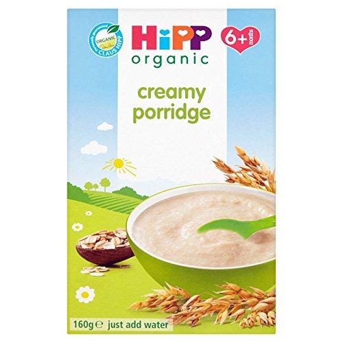 HiPP Organic Stage 1 From 6 Months Creamy Porridge 160 g (Pack of 4) GB2971.34