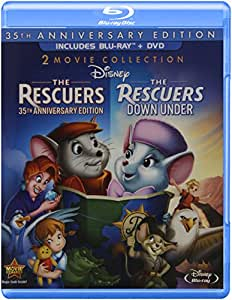 The Rescuers: The Rescuers / The Rescuers Down Under, 35th Anniversary Edition