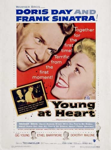 Amazon.com: Young at Heart Movie Poster (27 x 40 Inches - 69cm x 102cm) ( 1954) Style B -(Frank Sinatra)(Doris Day)(Gig Young)(Ethel  Barrymore)(Dorothy Malone)(Robert Keith): Prints: Posters & Prints