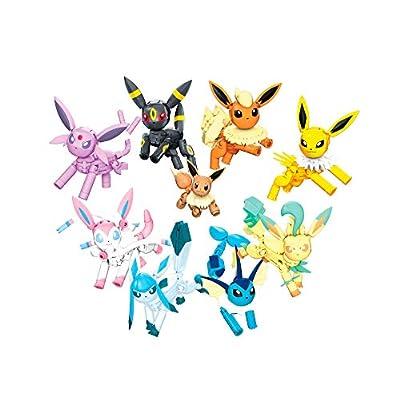 Mega Construx Pokemon Every Eevee Evolution! Pack: Toys & Games