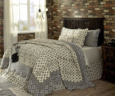 VHC Brands Elysee Luxury King Quilt 105x120
