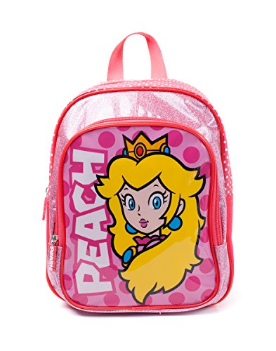Official Licensed Children's Nintendo Super Mario Princess Peach Backpack Bag -