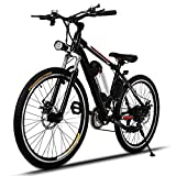 "Image of Speed Electric Mountain Bicycle with 26"" Fat Tire Suspension Fork and 36V Lithium-ion Battery [US STOCK]"