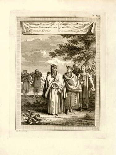 Impresión antigua ThePrintsCollector - indios-Quito-Ecuador - América - 1771: Amazon.es: Hogar