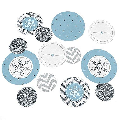 Winter Wonderland - Winter Wedding Table Confetti - 27 Count