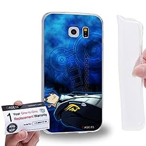 Case88 [Samsung Galaxy S6] Gel TPU Carcasa/Funda & Tarjeta de garantía - Fairy Tail Jellal Fernandes 1555