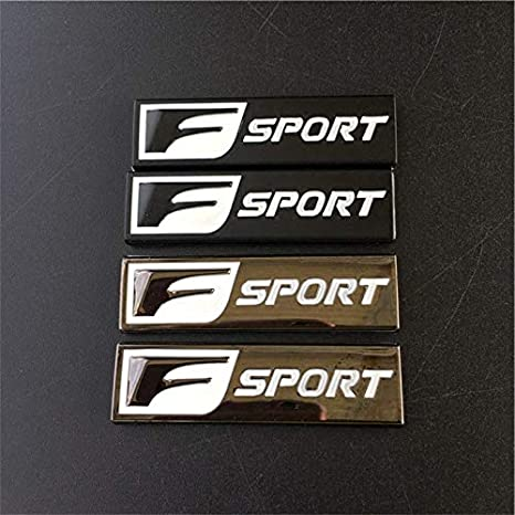 Universal Metal F Sport Logo Emblem Door Decal Badge car 3D Sticker fit for Lexus is 250 350 GS 350 450 NGA car/Stickers