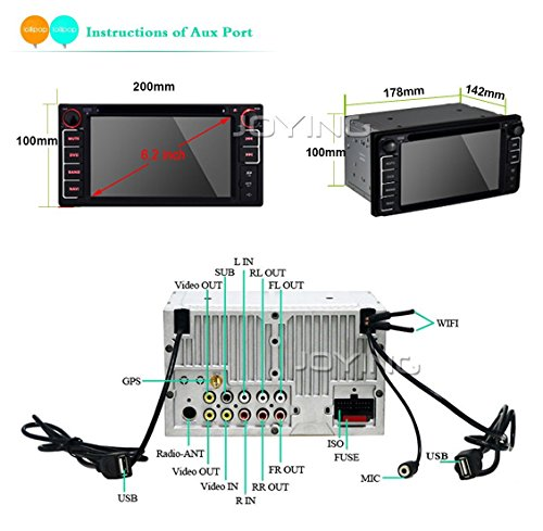 JOYING 4G Network Head Unit (Android Car Stereo) - Import It All