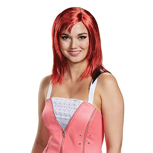 Disguise Women's Kairi Wig-Adult, red, One Size ()