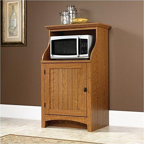 Sauder Summer Home Gourmet Free Standing Cabinet, Carolina Oak Finish