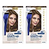 Clairol Nice n Easy Root Touch-Up 5 Kit Matches Medium Brown Shades of Hair Coloring Includes Precision Brush Applicator Tool Pack of 2