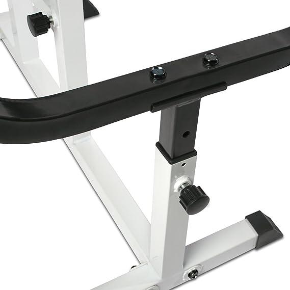 Fitness & Jogging Bizeps Curler Hantelbank Bizepsbank verstellbar Curl Bank Scottbank Trainingsban Krafttraining & Gewichte