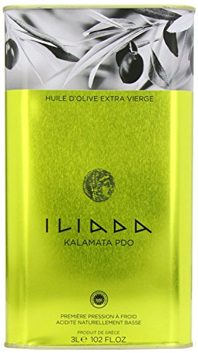 Olive Oil Case (Extra Virgin Olive Oil Iliada, CASE (6 x 3L))