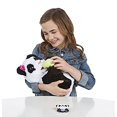FurReal Friends Pom Pom My Baby Panda Pet: Toys & Games