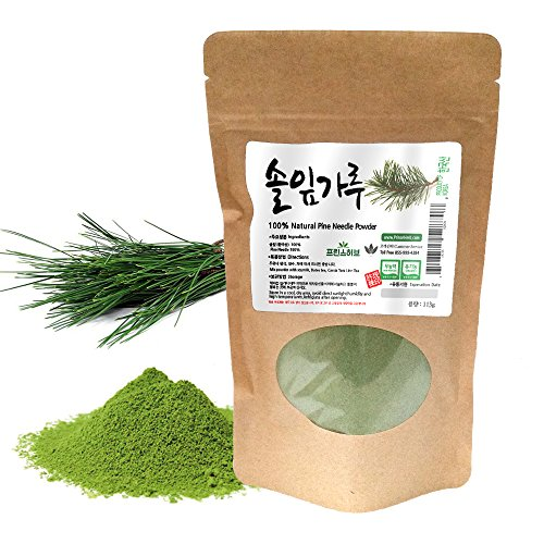 [Medicinal Korean Herbal Powder] 100% Natural Pine Needle Powder ( Pine Needle / 솔잎 분말 ) (4 - Pine Needle Tea
