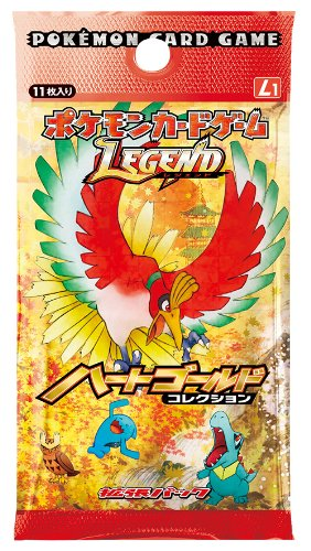 Pokemon Dpt JAPANESE Trading Card Game Legends Heart Gold Booster Box (20 Booster Packs) by Game Freak by Game Freak