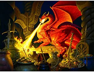 product image for SUNSOUT INC Smaug Dragon 1000 pc Jigsaw Puzzle