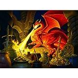 SunsOut Smaug Dragon a 1000-Piece Jigsaw Puzzle by Inc.