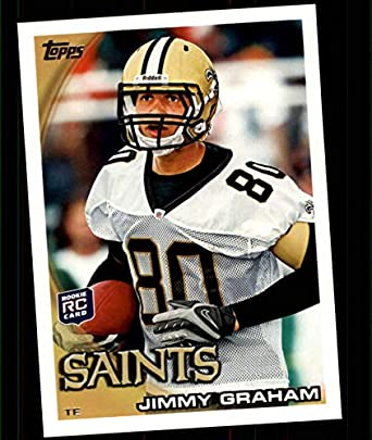 new style 5a090 ff6c1 Amazon.com: 2010 Topps Football #265 Jimmy Graham RC Rookie ...