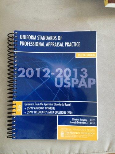USPAP 2012-2013