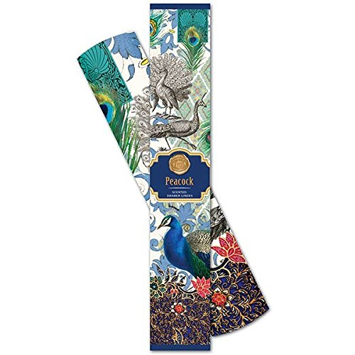 Michel Design Works Scented Drawer Liners, Peacock by Michel Design Works