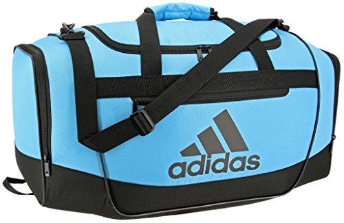 adidas Women's Defender III small duffel Bag, Bright Cyan/Black, One Size from adidas