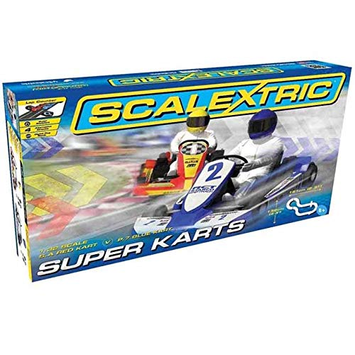 Scalextric Super Karts 1: 32 Scale Slot Car Playset from Scalextric