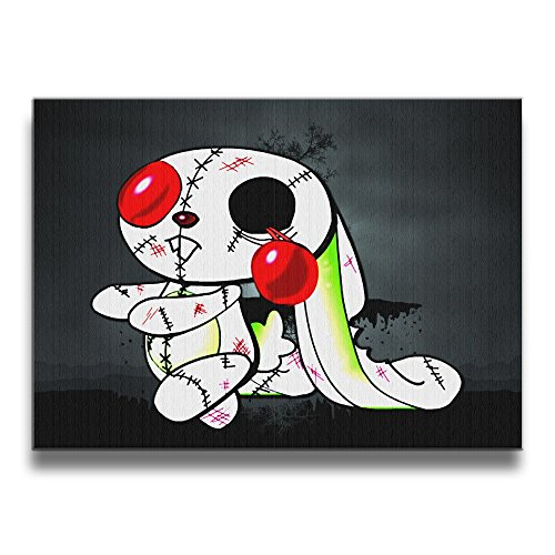 Zombie Bunny Frameless Painting Image Comprehensive Subject Fit For Your Child Bedroom