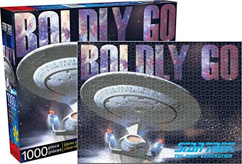 Aquarius Star Trek Next Generation 1000 Piece Jigsaw Puzzle (Star Trek Puzzle Jigsaw)