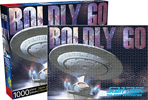 Aquarius Star Trek Next Generation 1000 Piece Jigsaw Puzzle (Star Jigsaw Trek Puzzle)