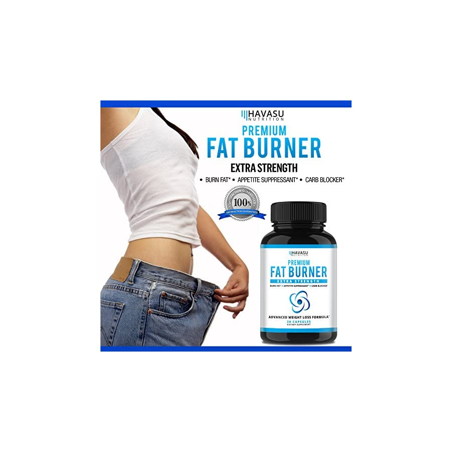 Extra Strength Weight Loss Pills and Keto Appetite Suppressant CLA, Green Tea Extract, Apple Cider Vinegar, Coral Calcium, White Kidney Beans Fat Burner & Metabolism Boost