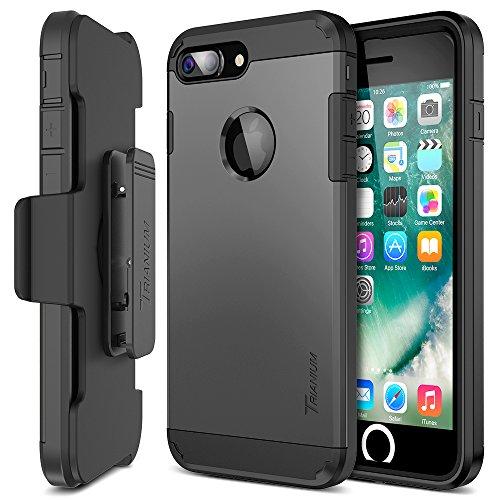 iPhone 7 Plus Case, Trianium [Duranium Series] Heavy Duty Protective Cases Shock...