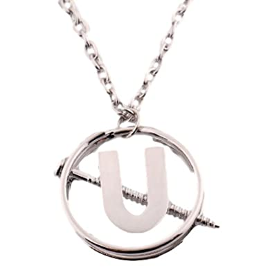 "Point Central Collectibles Ghostbuster Movie HOLTZMANN Screw U Pendant Necklace W/ 20"" Chain: Toys & Games"
