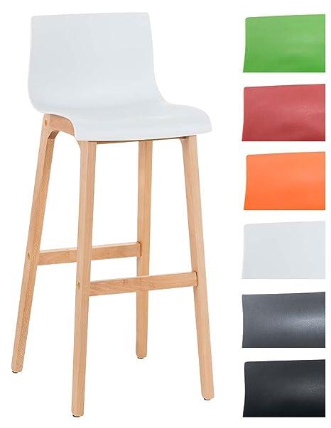 Sgabelli Da Cucina Di Design.Clp Sgabello Di Design Hoover In Polipropilene E Legno