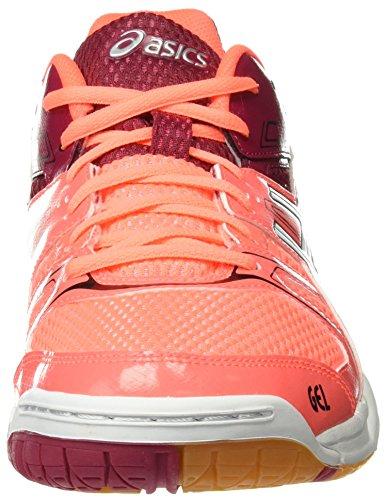 de Colores para Voleibol Cerise Mujer Asics Gel Varios White Rocket Coral Flash Zapatillas 7 YxwppBWIqz