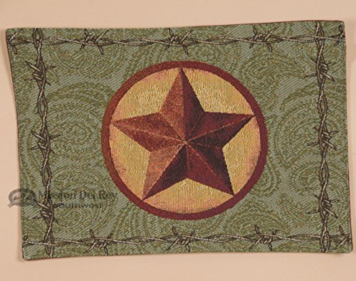Mission Del Rey's Kitchen and Home Collection - Western Star Placemat by Mission Del Rey